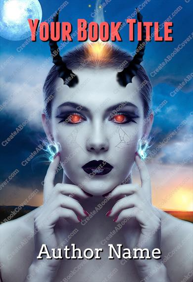 Devil Woman with horns