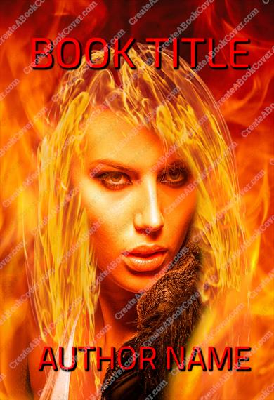 Magic Girl on Fire